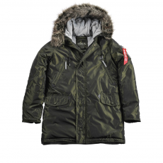 Alpha Industries N3-B R - dark green