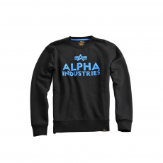Alpha Industries Foam Print Sweater - fekete