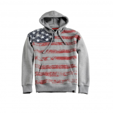Alpha Industries Flag Hoody - szürke
