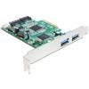 DELOCK I/O DELOCK PCI-E -> 2x USB 3.0 external, 2x SATA 6Gb/s (89359)