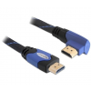 DELOCK Cable High Speed HDMI with Ethernet male/male angled 3m (82957)