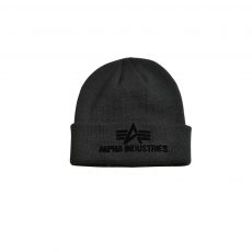 Alpha Industries 3D Beanie - fekete