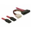 DELOCK Cable SAS 29pin to 2x SATA (SFF 8482 > 2x SATA) 50cm (83054)