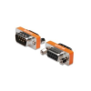 Digitus ASSMANN Adapter RS232 null-modem DSUB9 M (plug)/DSUB9 F (jack)