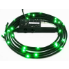 NZXT Sleeved LED Kit - Two Meters; Green