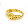 Gyémánt köves fantázia arany gyűrű
