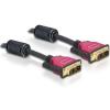 DELOCK DVI 24+1 Cable 3.0m male / male (84346)