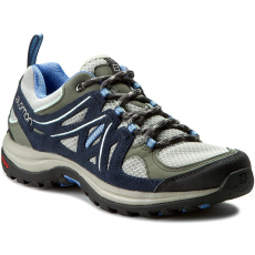 Salomon Bakancs SALOMON - Ellipse 2 Aero W 379206 20 W0 Titanium/Deep Blue/Petuna Blue