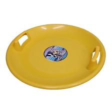Superstar müanyag tányér sárga szánkó