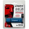 Kingston 64GB DataTraveler Vault Privacy 3.0 (Management Ready) vízálló USB3.0 pendrive kék