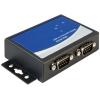 DELOCK USB A -> 2db Serial RS-422/485 F/M adapter fekete