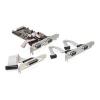 DELOCK PCI-E x1 - soros port párhuzamos port multi IO vezérlő