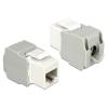 DELOCK RJ45 -> LSA CAT6 F/F Keystone modul fehér