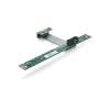 DELOCK PCI-E x1 Riser card (flexibilis 7cm-es kábellel)