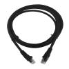 LogiLink CAT6 U/UTP Flat Patch Cable SlimLine AWG32 black 0,50m