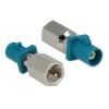DELOCK FAKRA Z -> FME M/M adapter