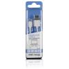 Whitenergy USB A -> USB micro B M/M adatkábel 0.3m fehér
