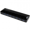 Startech 7-PT USB 3.0 HUB + CHARGE PTS 2X2.4A DEDICATED FAST CHARGE PTS