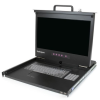 Startech 1U Rackmount 17' LCD konzol fekete
