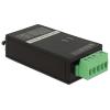 DELOCK USB A -> Serial RS-422/485 F/F izolátor 3kV fekete