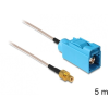 DELOCK SMB -> FAKRA Z M/M antenna kábel 5m RG-316 ezüst