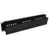 Startech 2U kábel management modul fekete