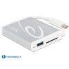 DELOCK Thunderbolt Adapter > 1 x USB 3.0 Type-A female + SD UHS-II Card Reader