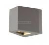SLV-Big White OUT BEAM LED kültéri IP44, 500/900 lm fali LED lámpatest, ezüstszürke - Big White SLV 229664 kültéri világítás