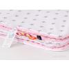 Pihe puha minky takaró - Rózsaszín, szürke csillagos