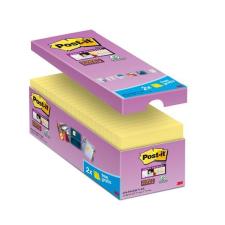 3M POSTIT Öntapadó jegyzettömb csomag, 127x76 mm, 16x90 lap,