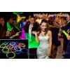Világító rúd / party karkötő - több színben (100 db) - Bonzo Disco