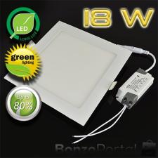 18 W négyzetes LED PANEL / HIDEGFEHÉR- SMD CHIPPEL világítás