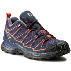 Salomon Bakancs SALOMON - X Ultra Prime W 391843 20 M0 Nightshade Grey/Deep Blue/Coral Punch