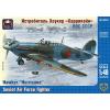 "Ark Models Hawker ""Hurricane"" British fighter, the Soviet Air Forces repülőgép makett Ark Models AK48024"