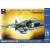 "Ark Models Hawker Siddeley ""Harrier"" GR.1 British V/STOL attack aircraft repülőgép makett Ark Models AK72027"