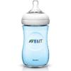 Avent Natural cumisüveg - 260ml - kék (újszülött átfolyású, természetes kialakitás)