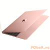 "Apple MacBook 12"" Retina (2016) Gold Rose Intel Core M3 1,1GHz-2,2GHz,8GB,LPDDR3,SSD 256GB,12"",LED,2304x1440,MAC OS X El Capitan,NO DVD!,AUDIO,Intel HD Graphics 515,WLAN,Bluetooth,1xUSB Type-C,0,92Kg,WEBCAM"