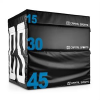 Capital Sports CAPITAL SPORTS Rookso Set Soft Jump Box, plyo box, fekete, 15/30/45 cm, 3 darab