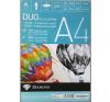Rajzlaptömb DUO A/4 (20 lap félfamentes+20 lap famentes)/tömb gyermek- és ifjúsági könyv