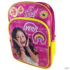 KIDS LICENSING hátizsák Soy Luna Disney Disney My Own Way dupla zseb 36cm gyerek
