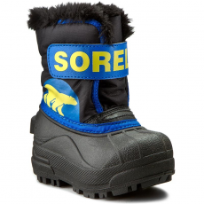 SOREL Hótaposó SOREL - Toddler Snow Commander NV 1877-011 Black/Super Blue