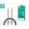 Devia 3,5 - 3,5 mm jack audio kábel 1 m-es vezetékkel - Devia iPure Audio Cable - black