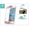 Devia Apple iPhone 6/6S üveg képernyő- + Crystal hátlapvédő fólia - Devia Jade 2 Full Screen Tempered Glass Glossy - 1 + 1 db/csomag - rose gold