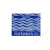 Waterman Töltőtoll patron, WATERMAN, kék (ICWTPK)
