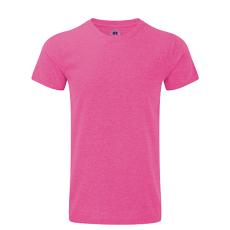 RUSSEL Karcsúsított fazonú, Russell férfi póló, Pink Marl