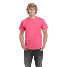 GILDAN ultra előmosott póló, safety pink