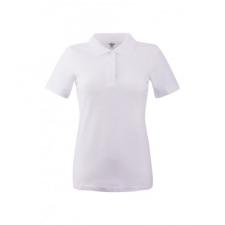KEYA Női galléros piké póló, fehér női póló