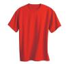 KEYA kereknyakú póló, piros férfi póló