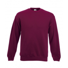 Fruit of the Loom Kereknyaku Set-In Sweat, burgundy