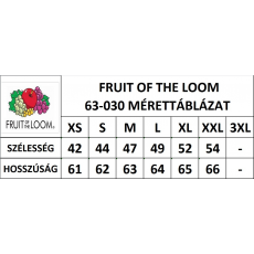 Fruit of the Loom Női premium piké póló, azurkék